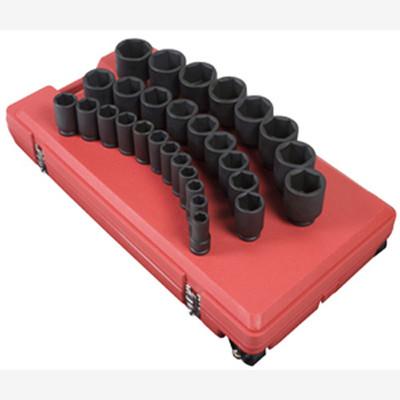 "Sunex 4695 3/4"" Dr. 29 Pc. SAE Deep Impact Socket Set"