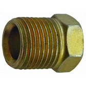 "S.U.R. & R TR605 3/8"" Inverted Flare Nut 5/8""-18 (4)"