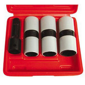"Astro Pneumatic 78803 3 piece 1/2"" Drive Thin Wall Flip Impact Socket Set"