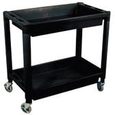 Astro Pneumatic 8330 Plastic 2 Shelf Utility Cart