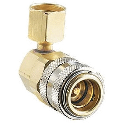 FJC 6006 R134a 90 Degree Quick Coupler - LS 14mm x 1.5