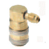 "FJC 6010 R134a 90 Degree Quick Coupler 1/4"" - LS"