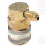 "FJC 6009 R134a 90 Degree Quick Coupler 1/4""  - HS"
