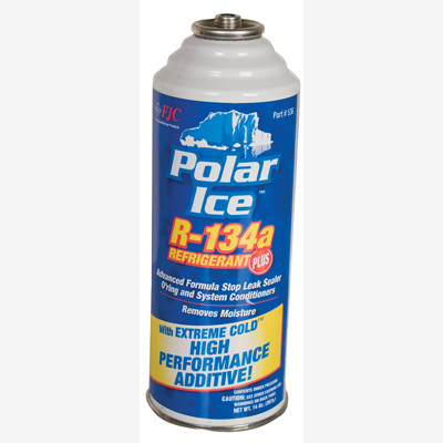 FJC 536 R134a with Synthetic Refrigerant Oil, Extreme Cold Synthetic Performance Enhancer, Advanced Formula Stop Leak Sealer and O'ring and System Conditioners.  Removes Moisture.  14 oz