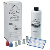 FJC 2538P Basic Retrofit Kit w/Universal PAG Oil