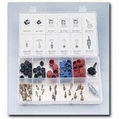 FJC 2663 Cap & Valve Core Assortment w/ Tools