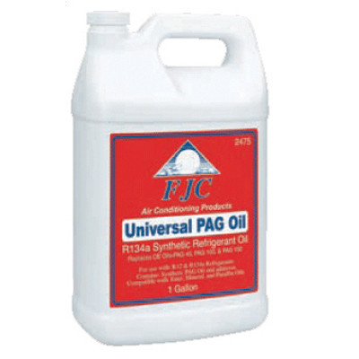 FJC 2481 FJC Universal PAG Oil w/Fluorescent Dye - gallon