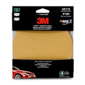 "3M 03114 6"" Adhesive Backed Sanding Disc Fine 180 Grit"