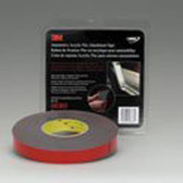 3M 06383 Gray 7/8 X 20 Yard Automotive Acrylic Plus Attachment Tape