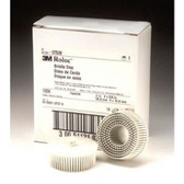 "3M 07529 3"" White Bristle Disc Coarse"
