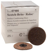 3M 07485 3-Inch Roloc Coarse Surface Conditioning Disc MAX RPM 18,000, 25 Discs