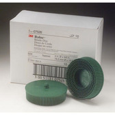 3M 07526 Roloc Bristle Disc 3 X 5/8 Coarse