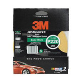 "3M 31438 Stikit 6"" Gold Disc P220A 5 pack"