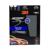 3M 32021 Imperial Wet or Dry Sheet 5 pack
