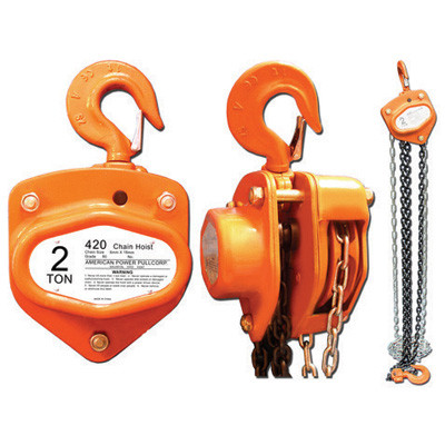 American Power Pull 420 2 Ton Chain Block