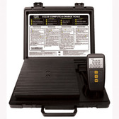 "CPS Products CC220 Refrigerant Charging Scale, 220 lb Capacity, 8-3/4"" x 8-3/4"" Platform"