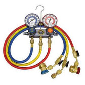 CPS Products MA1234 R-134a Gauges, 6ft Ball Valve Hoses & Manual Couplers