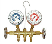 CPS Products MB1234 Dual A/C Manifold Gauge Set, for R12 and R134a