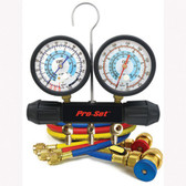 CPS Products MT7I7A6Q Working Man A/C Manifold Gauge Set, for R134a