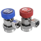 CPS Products QC134SET A/C Manual Coupler Set 2 Piece, with 14mm Fittings