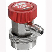 "CPS Products QCH14 A/C Manual Coupler High Side, with 1/4"" Fittings"