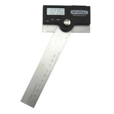 """General Tools 1702 6"""" Stainless Steel Pivoting Arm Digital Protractor"""