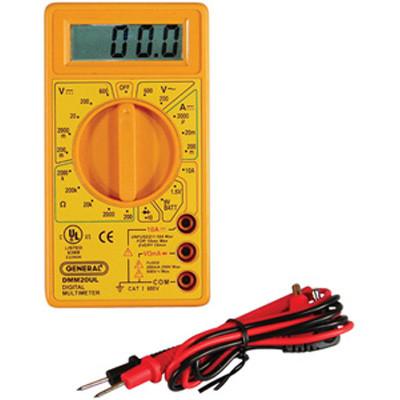 General Tools DMM20UL Digital Ul Listed Multimeter