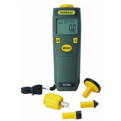 General Tools PCT900 Mini Photo/ Contact Tachometer