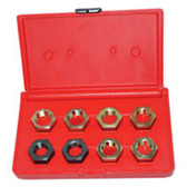 Kastar 2579 8 piece Spindle Rethread Die Set