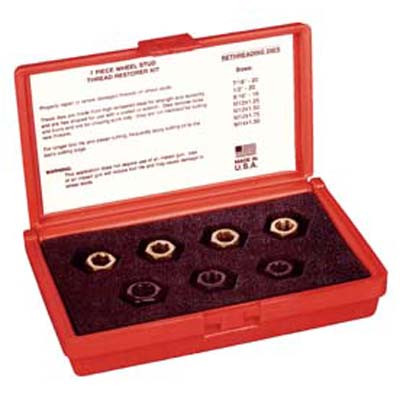 Kastar 2583 7 piece Wheel Stud Thread Restorer