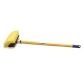 "Laitner Brush 14081 8"" Bi-Level Brush Yellow Bristles"