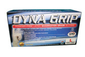 SAS Safety 650-1001 Dyna Grip Powder Free Latex Gloves 8 MIL S
