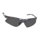 SAS Safety 540-0101 Diamondback Safety Glasses - Gray Frame