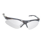 SAS Safety 540-0103 Diamondback Safety Glasses - Gray Frame