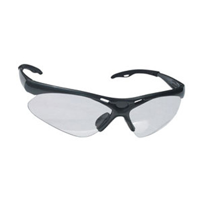 SAS Safety 540-0200 Diamondback Safety Glasses - Black Frame