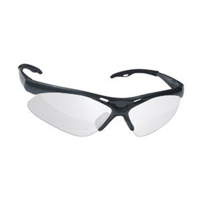SAS Safety 540-0203 Diamondback Safety Glasses - Black Frame
