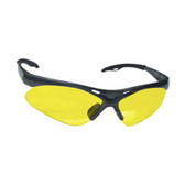 SAS Safety 540-0205 Diamondback Safety Glasses - Black Frame