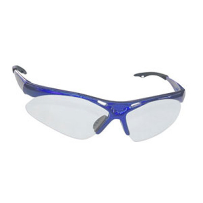 SAS Safety 540-0300 Diamondback Safety Glasses - Blue Frame