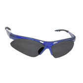 SAS Safety 540-0301 Diamondback Safety Glasses - Blue Frame