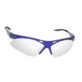 SAS Safety 540-0303 Diamondback Safety Glasses - Blue Frame