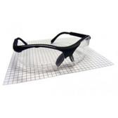 SAS Safety 541-2000 Sidewinder Readers 2.0 Black Safety Glasses