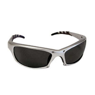 SAS Safety 542-0201 GTR Safety Glasses with Shade Lens Silver