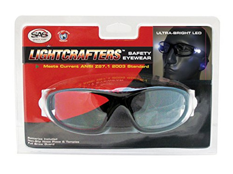 SAS Safety 5420-30 LED Readers Safety Glasses 3.0