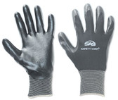 SAS Safety 640-1911 Black 15 Gauge Nylon Knit Shell Gloves