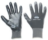 SAS Safety 640-1911 Black 15 Gauge Nylon Knit Shell Gloves