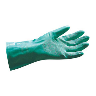 SAS Safety 6533 Nitrile Chemical Glove - Flock Lined