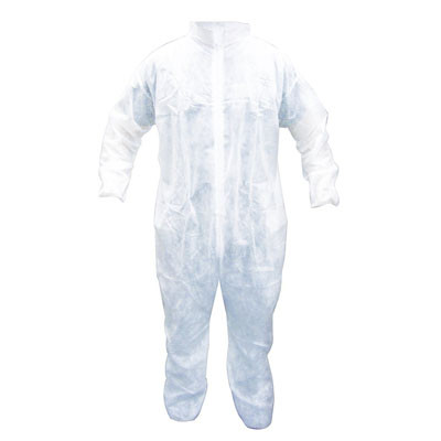 SAS Safety 6843 Polypropylene Disposable Coverall - L