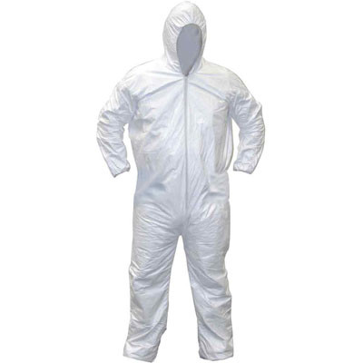 SAS Safety 6895 Hooded Coverall XXL