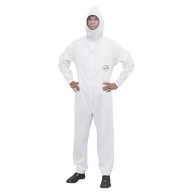 SAS Safety 6938 Moonsuit Nylon Coverall - Large
