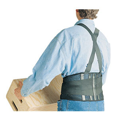 SAS Safety 7163 Deluxe Back Support - L